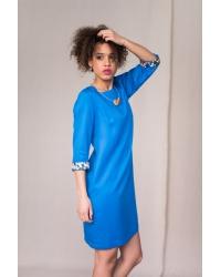 Sukienka Alhambra Pixel Blue